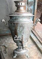 Самовар рюмка латунь нікельована поч20ст в інтерєр чи невелику реставрацію.