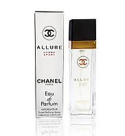 Мини парфюм Chanel Allure Homme Sport  (Шанель Аллюр Хоум Спорт)  40 мл. (реплика)