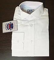 Белая рубашка на мальчика (рост 122-128 см, 134-140 см)