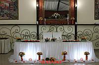 Оформлення залу на весілля