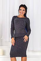 ДС1282 Костюм ангоровый кофта+юбка размеры 42-48, фото 3