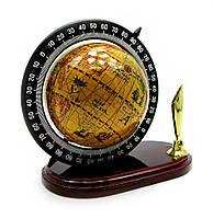 Глобус с подставкой для ручки (10х8,5х6 см)