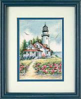 65057 Набор для вышивания крестом DIMENSIONS Живописный маяк