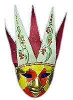 Маска карнавальная Венецианская папье-маше (44,5см)