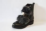 Ботинки женские с мехом козы Euromoda 1771