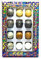 Каменные шары набор (н-р/12шт)(d-3,5 см)(27х18х3,5 см)