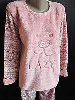 Зимние махровые пижамы для женщин.