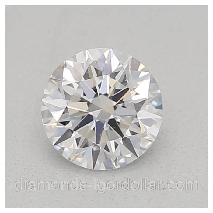 Купить бриллиант натуральный природный Украина 4 мм 0.25 кт 3/4-4/5 супер цена