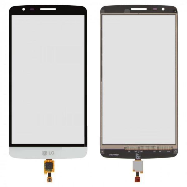 Сенсор (тачскрін) для LG D690 G3 Stylus/D693 білий Оригінал