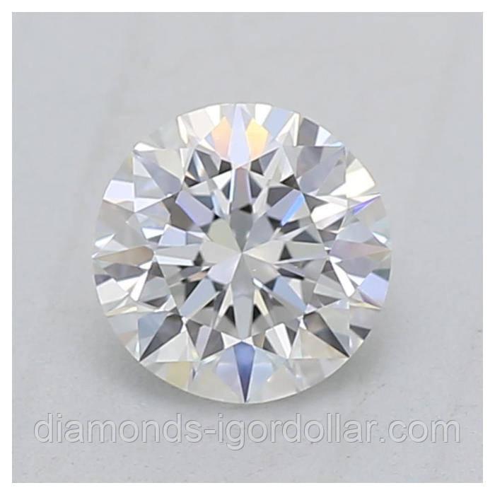 Купить бриллиант натуральный природный Украина 3.8 мм 0.2 кт 3/4-4/5 супер цена