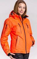 Купить лыжную куртку женскую Avecs orange, фото 1