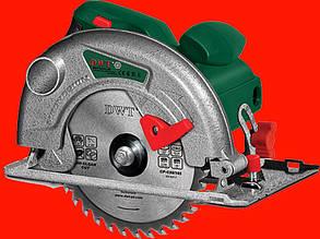 Дисковая пила 1.2 кВт 165 мм DWT HKS12-55