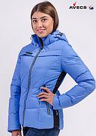 Купить лыжную женскую куртку фирмы Avecs blue Lagoon, фото 1