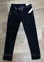 Котоновые брюки на флисе для девочки 134-164 см