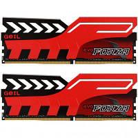 Модуль памяти для компьютера DDR4 16GB (2x8GB) 3200 MHz EVO Forza Hot-Rod Red GEIL (GFR416GB3200C16ADC)