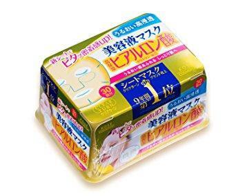Увлажняющие японские маски с гиалуроновой кислотой Kose Clear Turn Essence Mask (Hyaluronic Acid), 30 шт