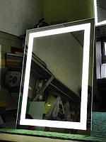 Зеркало с подсветкой на светодиодах, фото 1