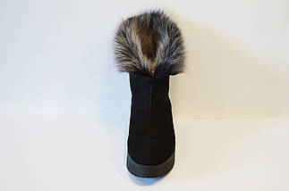 Замшевые зимние ботинки на платформе Tucino, фото 3