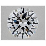 Бриллиант белый натуральный природный 5,7 мм  0,7 Кт