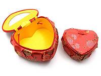 "Шкатулки ""Сердечки"" н-р 2 шт (17,5х15,5х8,5 см 14х12х6 см)"