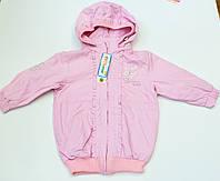 Куртка -ветровка на девочку рост 86-110  см