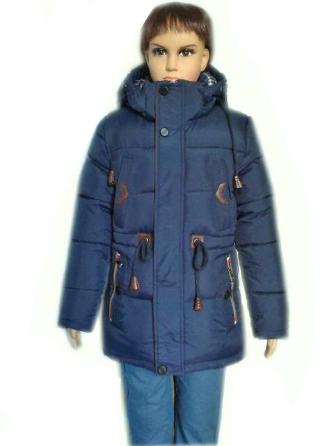 Куртка парка зимняя 5-9 лет