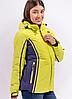 Женская лыжная куртка Avecs желтая. Распродажа!!!