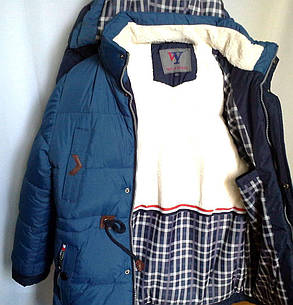 Куртка парка зимняя 5-9 лет, фото 2