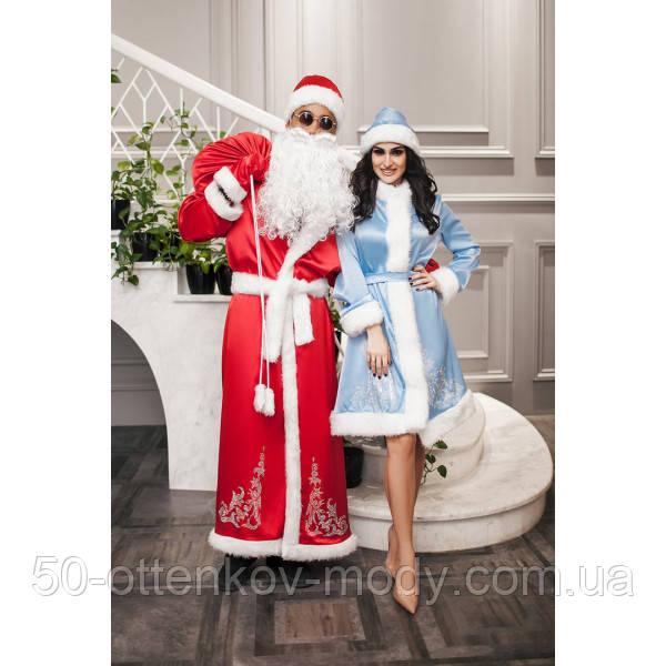 Новогодний костюм Деда Мороза и Снегурочки