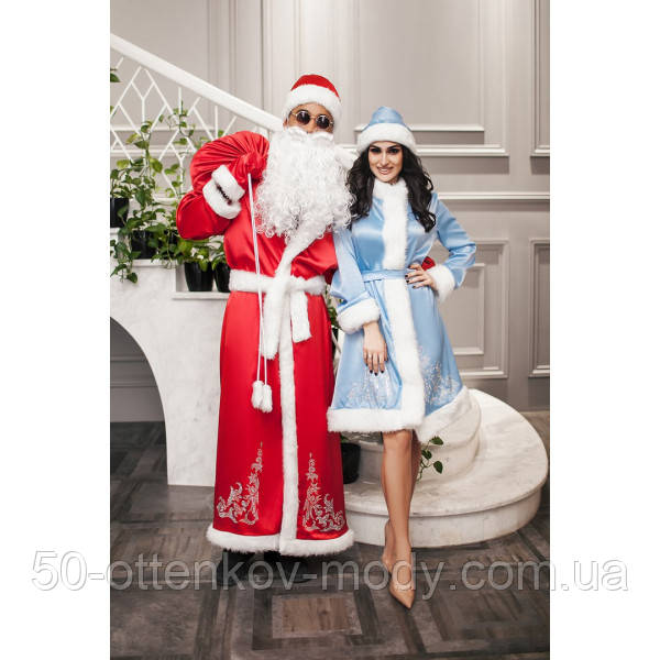 Новорічний костюм Діда Мороза і Снігуроньки
