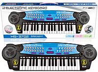 Синтезатор с микрофоном для детей HS3702В