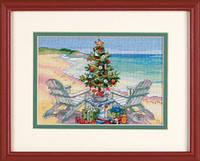 70-08832 Набор для вышивания крестом DIMENSIONS Рождество на пляже