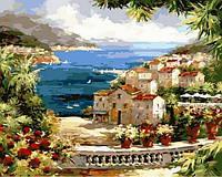 Картины по номерам 40×50 см. Вид на гавань Художник Питер Белл, фото 1
