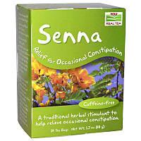 Настоящий чай из сенны, Senna Tea Now Foods,  24 bags