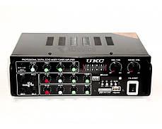 Усилитель звука 5-ти канальный UKC PA-329BT, фото 3