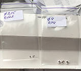 Бриллиант натуральный природный идеально белый чистый купить в Украине 3,3 мм 0,14 карат 2/3-2/4, фото 2