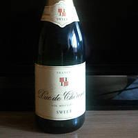 Шампанское Франция sweet. Игристое вино.