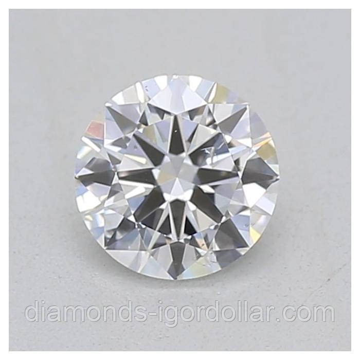 Бриллиант натуральный купить Украина  4 мм 0,25 кт 3/4-4/5 цена