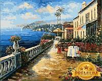 Картины по номерам 40×50 см. Babylon Premium Морской пейзаж Художник Ким Сен , фото 1