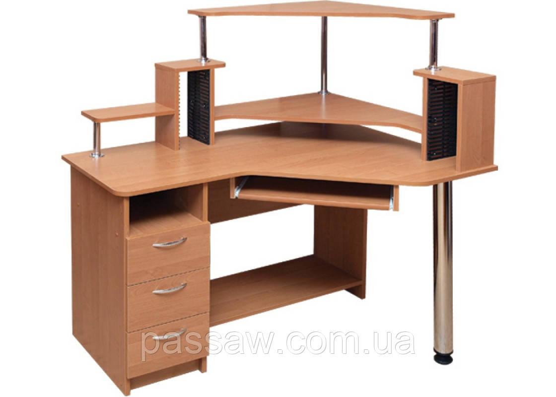 Компьютерный стол Орфей (с надстройкой)