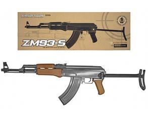 Игрушка Автомат ZM93-S металлический, фото 2