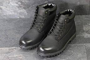 Мужские зимние ботинки Timberland,Тимберленд,черные, фото 3