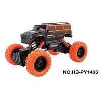 Джип HB-PY1403 Rock Crawler внедорожник 1:14, 4WD на радиоуправлении (аккумулятор Ni-Cd) Оранжевый Royaltoys