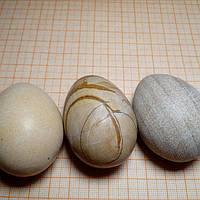 Яйцо из окаменелого дерева