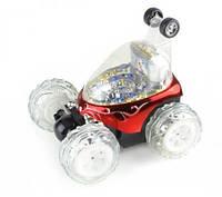 Машина 9295/9027 на радиоуправлении трюковая танцующая (18*15*16 см) Красный Royaltoys