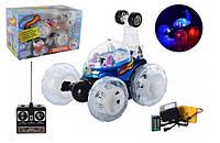 Светящаяся машинка 9295/9027 трюковая на р/у для мальчиков от 3 лет (18*15*16 см) Синий Royaltoys