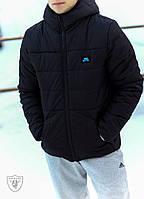 Мужская зимняя куртка на силиконе до -20 градусов