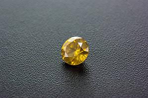 Діамант природний , канарейка 0.73 Cts 5.60 x 3.56 mm Сертифікат
