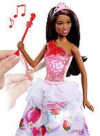Принцесса Барби Никки музыкальная кукла с световыми эффектами, Barbie Dreamtopia Sweetville Princess Nikki