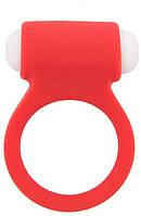 Эрекционное кольцо LIT-UP SILICONE STIMU RING 3 RED